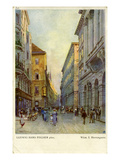Vienna, Austria: Herrengasse Giclee Print