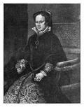 Mary Tudor Giclee Print by Antonio Moro