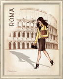 Roma Posters by Andrea Laliberte