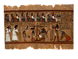 Judgement of the Dead before Osiris Giclee Print