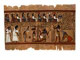 Judgement of the Dead before Osiris Giclee Print