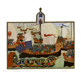 The Expedition of the French and Genoese to Barbary Giclee Print