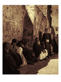 Jews at the Western Wall Giclee Print