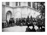 Reading of the Shah's Proclamation Giclee Print