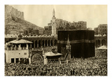 Pilgrims at the Kaaba Giclee Print