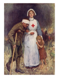 Red Cross Nurse Giclee Print by William Hatherell