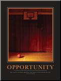 Oportunidad Lámina montada en tabla