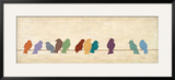 Birds Meeting Prints by Patricia Quintero-Pinto