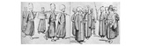 Janissaries in Uniform Giclee Print