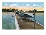 Baltimore: Bay Shore Park Pier Giclee Print