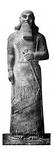 Statue of King Ashurnasirpal Giclee Print