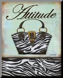 Exotische portemonnee III Kunstdruk geperst op hout van Todd Williams