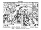 Totentanz 1848: Death Offers the Sword of Justice Giclee Print by Alfred Rethel