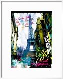 Magique Eiffel Prints by  Kaly