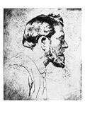 Emil Orlik - Self-Portrait Giclee Print by Emil Orlik