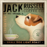Jack Russel Coffee Co. Pôsteres por Stephen Fowler
