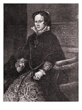 Mary Tudor Giclee Print by Antonio Moro