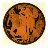 Greek Red Figure Vase Giclee Print