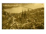 Cologne, Germany, Early 20th Century Giclee Print