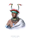 Shaumonekusse, or L'Ietan, an Oto Half-Chief Giclee Print by Charles Bird King