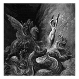 Orlando Furioso Illustrated by Gustave Doré Giclee Print by Gustave Doré