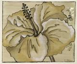 Tone on Tone Petals III Giclee Print by Nancy Slocum