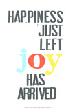 Peace, Love, Joy II Poster van Deborah Velasquez