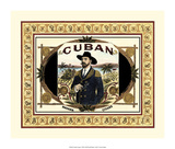Cuban Cigars Giclee Print by  Vision Studio