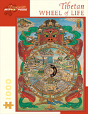 Tibetan Wheel Of Life 1000 Piece Puzzle Jigsaw Puzzle