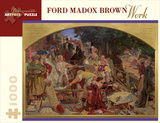 Ford Madox Brown/Work 1000 Piece Puzzle Jigsaw Puzzle