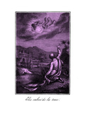 The Prophet Elijah Ascends into Heaven Giclee Print