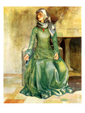 Woman&#39;s Costume in Reign of William II Giclee Print by Dion Clayton Calthrop