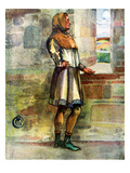 Man&#39;s Costume in Reign of Richard I (1189 - 1199) Giclee Print by Dion Clayton Calthrop