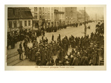 Libau under WWI German Occupation Lámina giclée