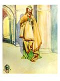 Man&#39;s Costume in Reign of Henry I (1100 - 1135) Giclee Print by Dion Clayton Calthrop