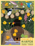Charley Harper Block Puzzle Jigsaw Puzzle