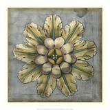 Rosette & Damask II Giclee Print by Jennifer Goldberger