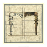 Furniture Sketch IV Giclee Print by  Vision Studio