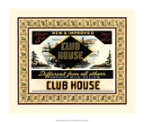Clubhouse Cigars Giclee Print