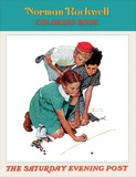 Norman Rockwell Coloring Book Book