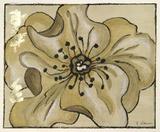 Tone on Tone Petals VI Giclee Print by Nancy Slocum