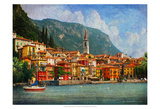 Como Village Poster von Chris Vest