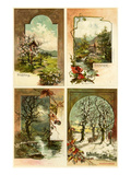The Four Seasons Giclee Print