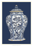 Blue & White Porcelain Vase II Prints