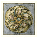 Rosette & Damask III Giclee Print by Jennifer Goldberger