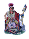 Keokuk Giclee Print by Charles Bird King