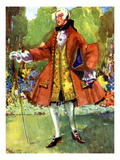 Man&#39;s Costume in Reign of George II (1727-1760) Giclee Print by Dion Clayton Calthrop