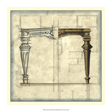 Furniture Sketch III Giclee Print by  Vision Studio
