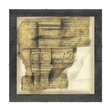 Antique Capitals III Prints by Jennifer Goldberger