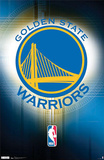 Golden State Warriors Logo Print